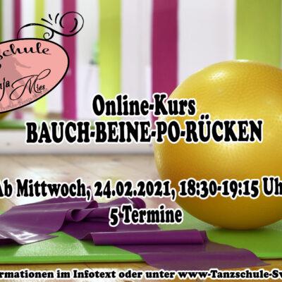 Bauch-Beine-Po-Rücken Online-Kurs