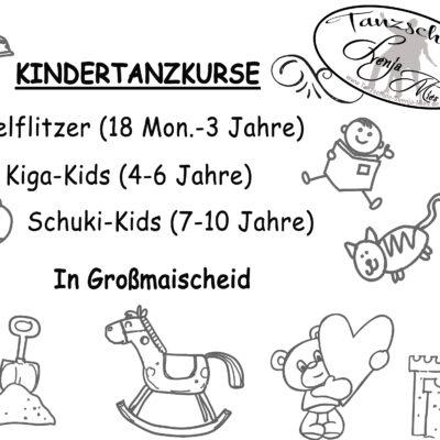 Neue Kinderkurse